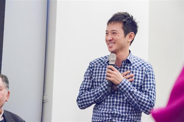 《滿月酒》導演、編劇、演員鄭伯昱