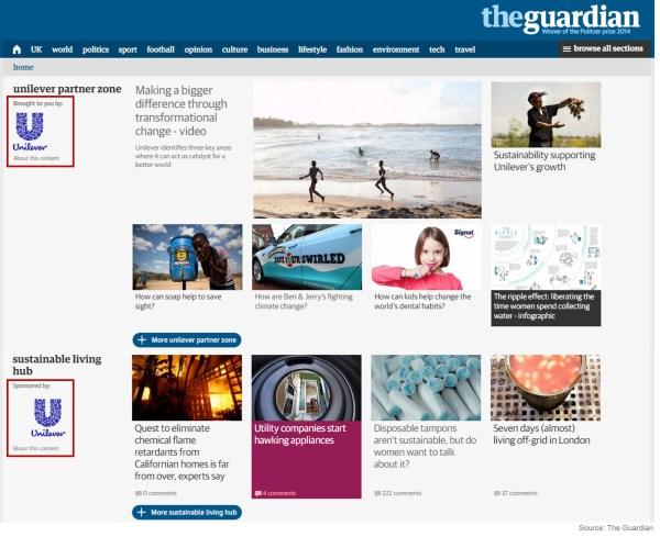 圖片截自《衛報》:http://www.theguardian.com/sustainable-business/unilever-partner-zone