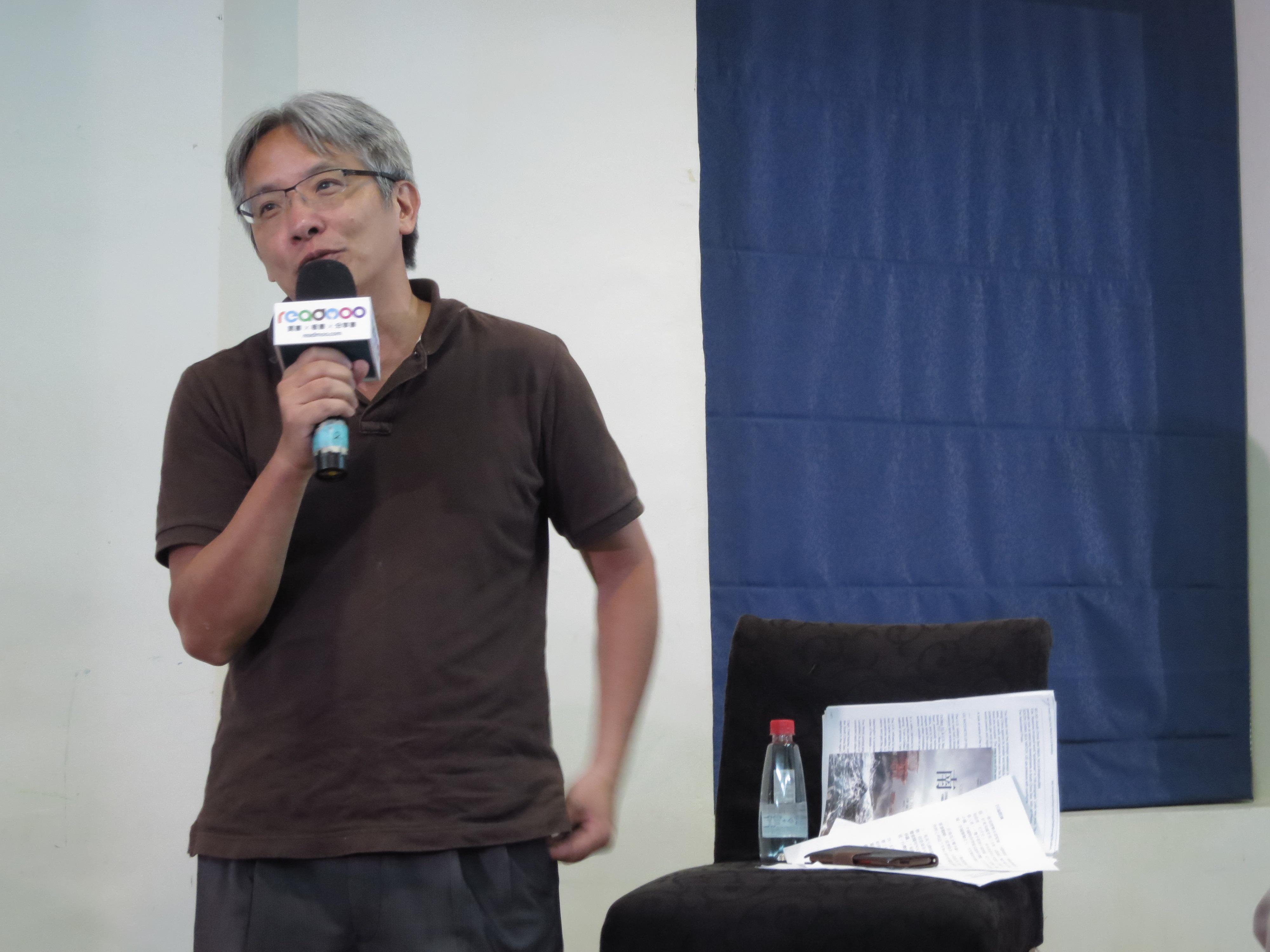 國際新聞資深媒體人、風傳媒副總編輯閻紀宇