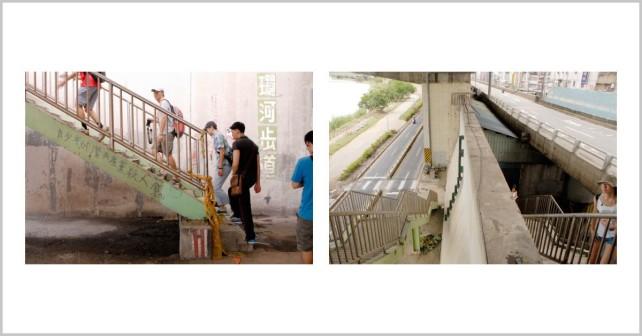 「這裡是最近發現的新景點哩!」──記台北城市散步:小心車子,這裡是台北河岸!