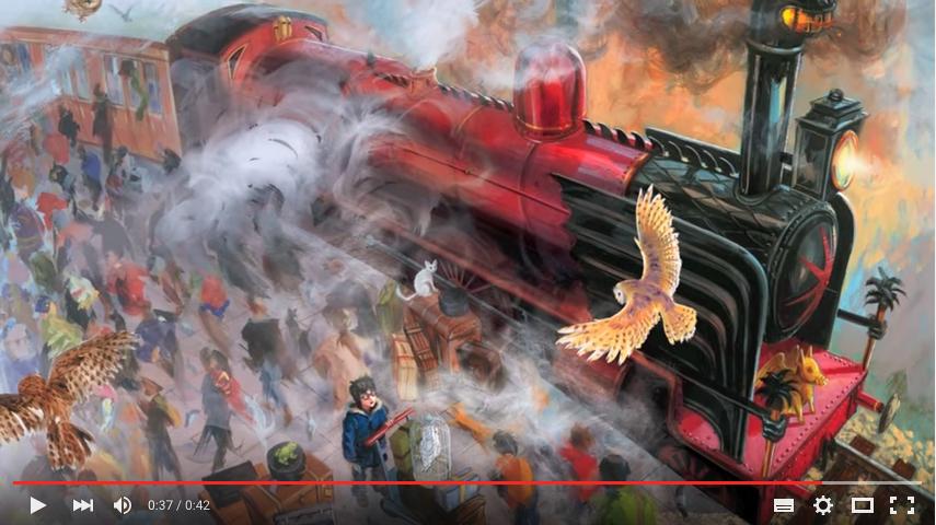 哈利波特迷排隊預備!第一本插畫版《哈利波特》系列即將上市
