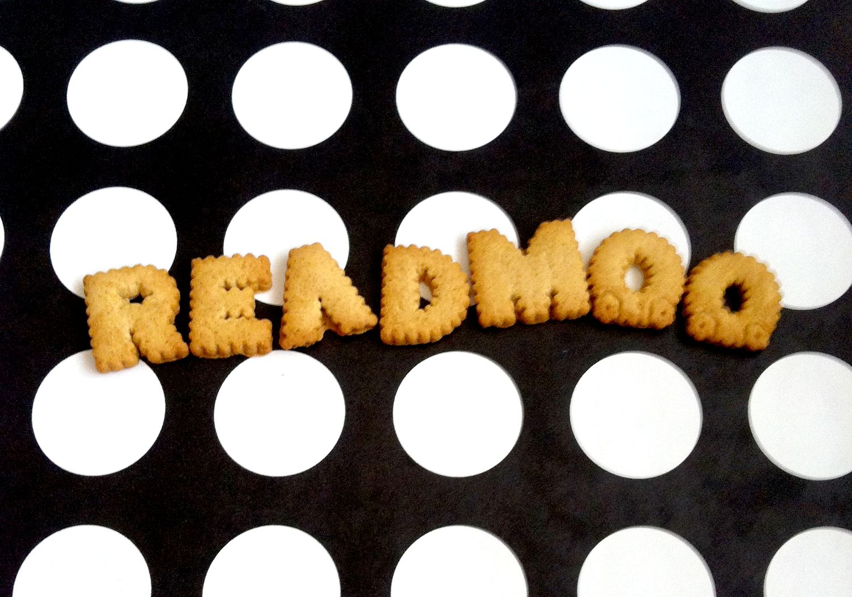 字母餅乾的終端