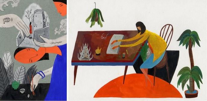 死亡與外星人的內心戲──與圖文創作者川貝母對談(二)