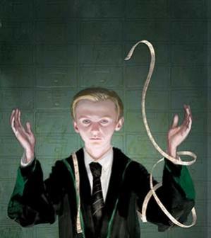 Draco Malfoy by Jim Kay