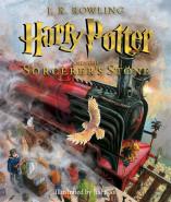 《Harry Potter》 Jim Kay 插畫版書封