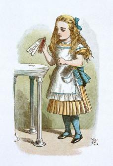 John_Tenniel_-_Illustration_from_The_Nursery_Alice_(1890)_-_066110