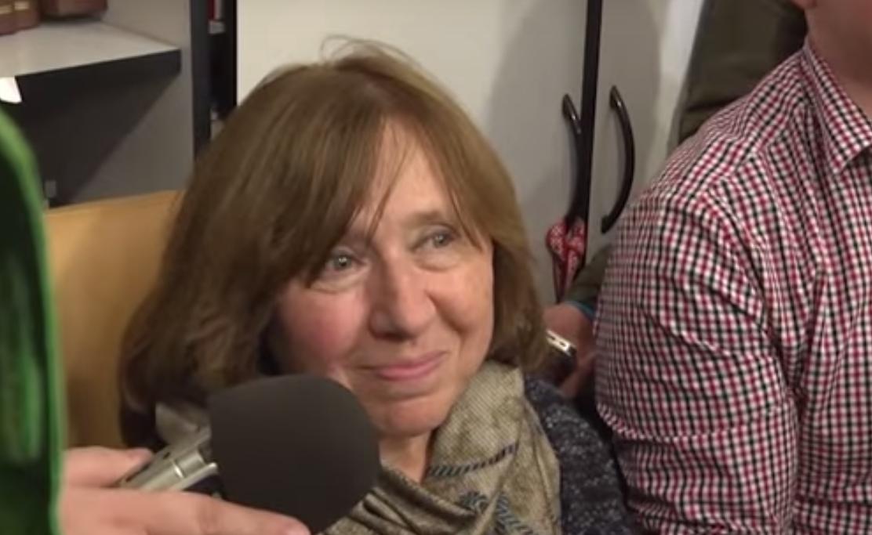 斯維拉娜‧亞歷塞維奇(Svetlana Alexievich)