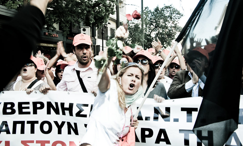 今日希臘悲劇 明日台灣上演