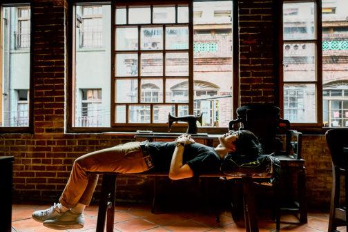 找個地方睡個好覺,再重新出發。圖片授權/小日子享生活誌