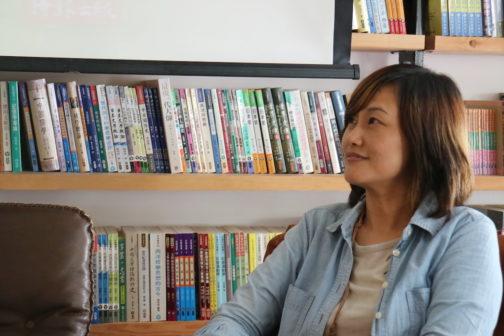 《花蓮365》作者王玉萍。照片提供/時報出版。