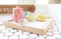 每到下午時光,總想來杯紅茶或咖啡?來自己親手做一個簡單易做的個性茶托吧!