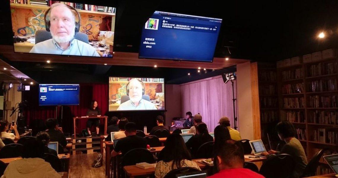 【影音實錄】唐鳳 X Kevin Kelly:《必然》跨海共讀見面會