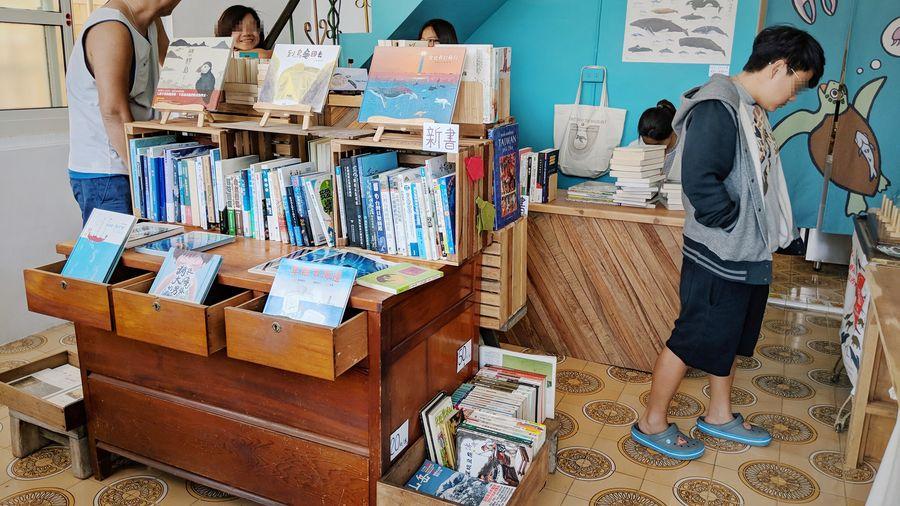 真正的島上書店、島上唯一的書店,同時不只是家書店──小島停琉