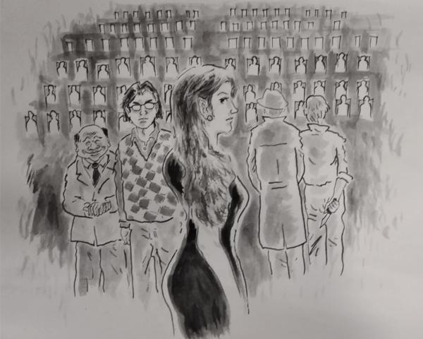 【張系國的蒙罕城傳奇】修墓的藍衣女子