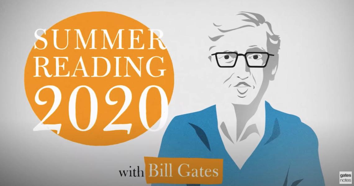 比爾蓋茲讀什麼?2020夏日書單公開!
