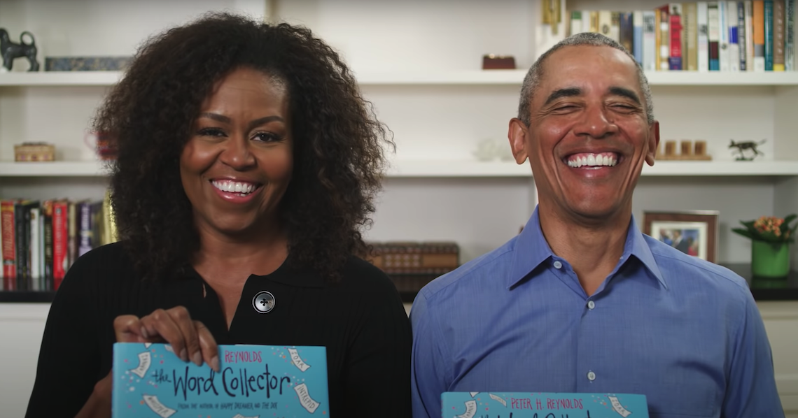 歐巴馬夫婦、鄉村音樂之王、最強推書人歐普拉為你朗讀!