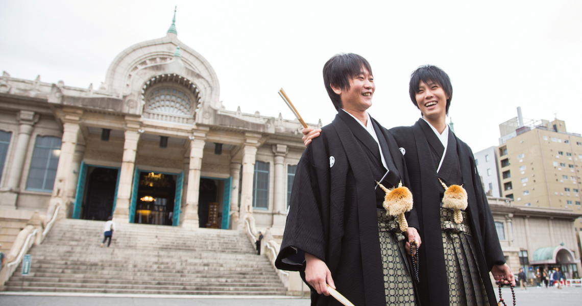 結婚第四年的同性伴侶分房睡?──七崎良輔與亮介的夫夫對談
