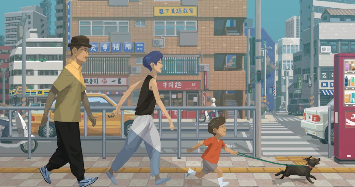 「我畫的就是當下最在乎的。」——專訪《1+1+1》作者BLUE藍聖傑