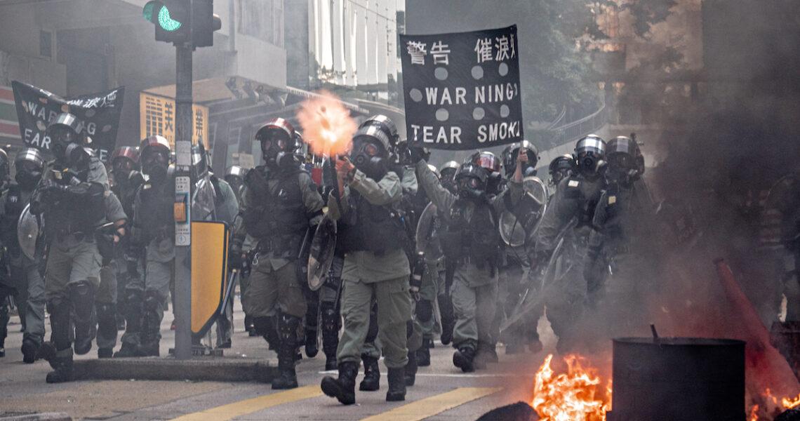 中共對反送中運動的主要憂慮,是使中國抗爭學習香港,挑戰其政權穩定。